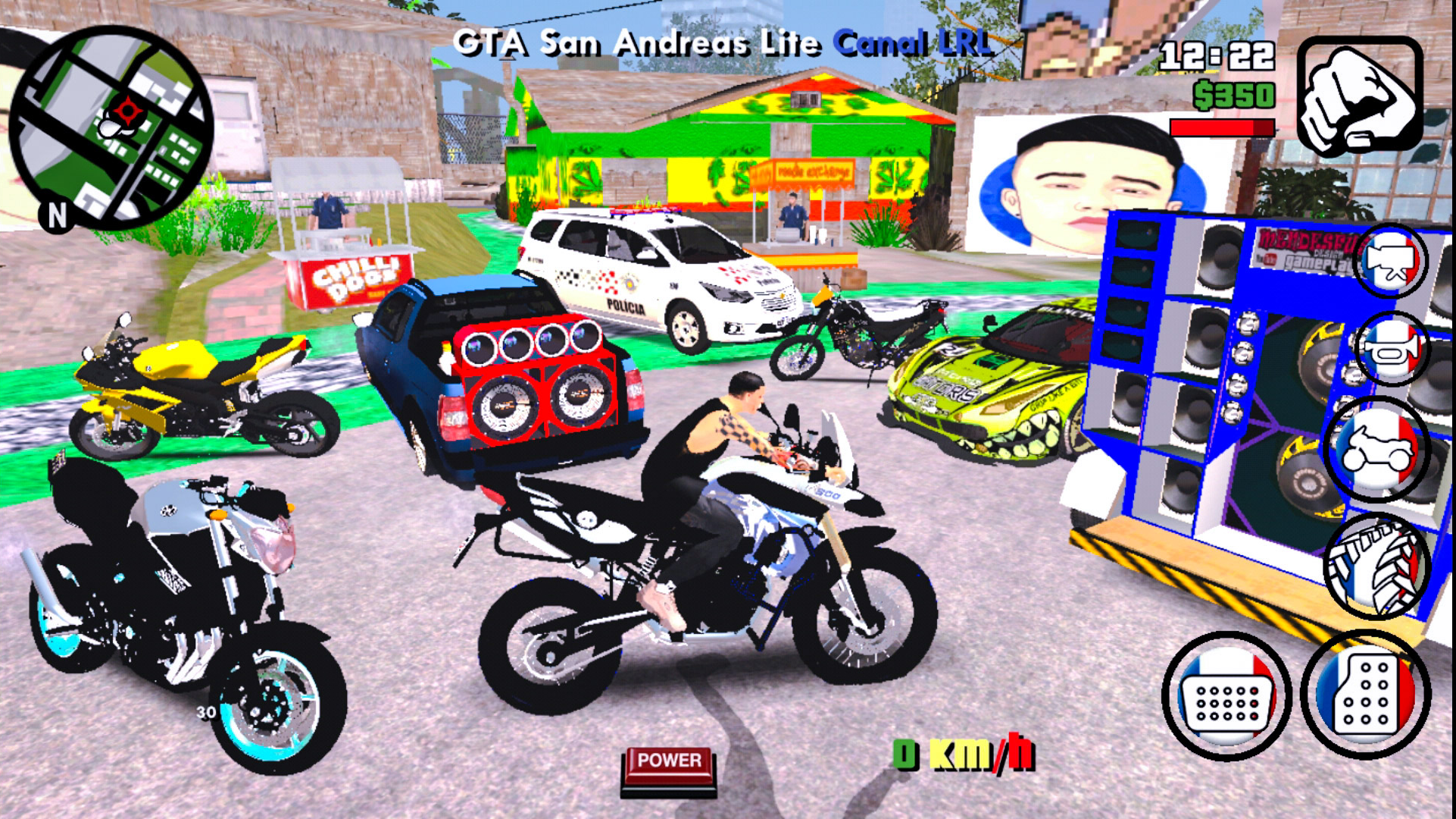 PSX 20191207 154330 - GTA Modificado v2 para Android (625MB) apk+data
